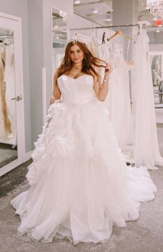 Noelle shares some of her favorite wedding dresses at David's Bridal! Second Wedding Dresses, Second Weddings, Glitter Bridesmaid Dresses, Bridal Dresses, White By Vera Wang, Strapless Corset, Vera Wang Dress, Affordable Dresses, Glamorous Wedding