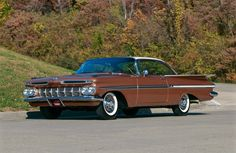 1959 Chevrolet Impala in Gothic Gold/Satin Beige