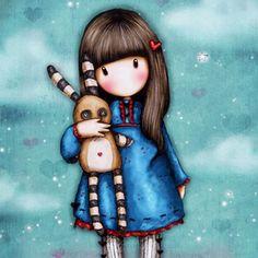 #Muñeca #Gorjuss. Hush little bunny. https://www.tiendagorjuss.com/