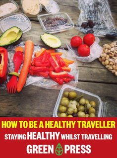 Staying healthy whilst travelling is just as important as staying healthy at home.   greenpress.co