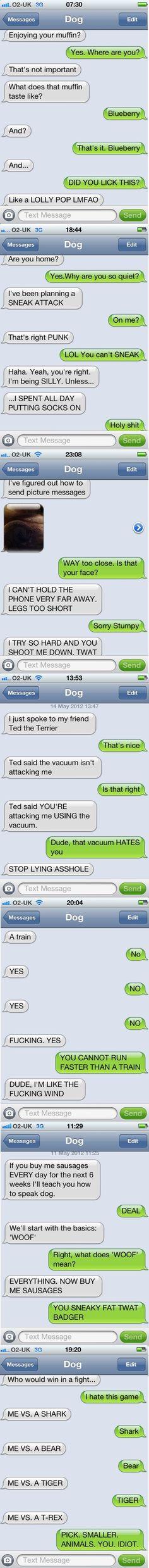 hahahaha love it. i wish my rock could text me lol