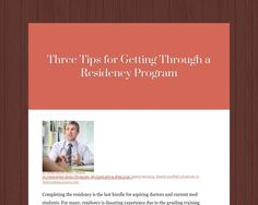 Completing the residency is the last hurdle for aspiring doctors and current med students. For many, residency is daunting experience due to the grueling training programs, 80-hour workweek, and the steep learning curve. Residency programs don't...