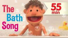 The Bath Song + More! is a fun video for teaching kids parts-of-the-body vocabulary. Followed by many more of your favorite Super Simple Songs videos.  #prek #kindergarten #ESL #puppetry