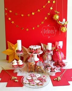 Navidad mesa dulce