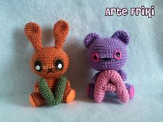 Bunny and Bear - Arte Friki