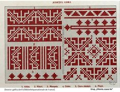 Cross Stitch, Embroidery, Folklore, Drawings, Tools, Manualidades, Crosses, Seed Stitch, Punto De Cruz