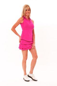 """Cutest golf and tennis skirt! """"Flirt Skirt"""" Ellabelle.com"""