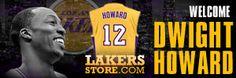 Lakersstore.com Dwight Howard Merchandise