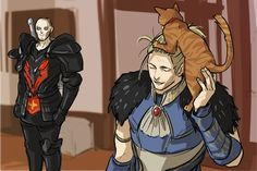 justice, anders, and sir pounce-a-lot