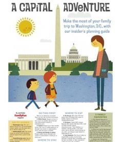 A Capital Adventure! Family guide to DC from FamilyFun Magazine.