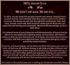 INFJ Anger Style