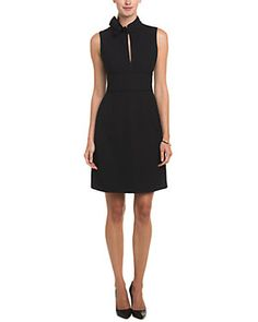 RED Valentino Black Keyhole Dress