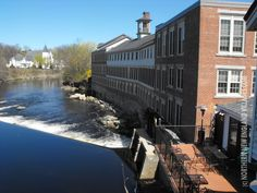 Renovated Mills in Milford, New Hampshire