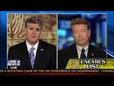Rand Paul Discusses IRS Scandal & Enemies List on Hannity - 5/13/13