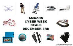 Amazon Cyber Week Deals December 3rd
