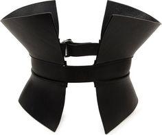 That's cool. Gareth Pugh Leather Corset Belt - Lyst