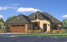 D'Arbonne House Plan- great simple house plan that has everything. Pantry, fireplace, laundry room, big rooms. Good sized bedrooms.