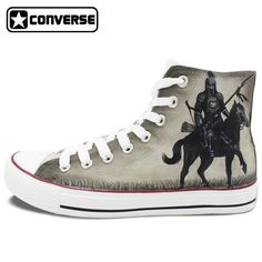 118.15$  Know more - http://airrp.worlditems.win/all/product.php?id=32440683823 - Grey Converse All Star Men Women Shoes Knight Custom Design Hand Painted Shoes Man Woman Sneakers Birthday Gifts