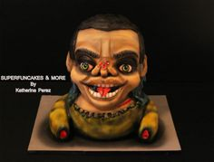 Hallowwen collaboration Funny zombie by Super Fun Cakes & More