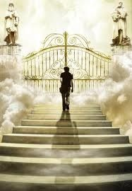 Image result for copyfree image of god at the pearly gate of heaven