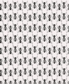 ant wallpaper by kamy Graphic Patterns, Cool Patterns, Print Patterns, Style Patterns, Motifs Textiles, Textile Patterns, Paper Scrapbook, Home Decoracion, Motifs Animal