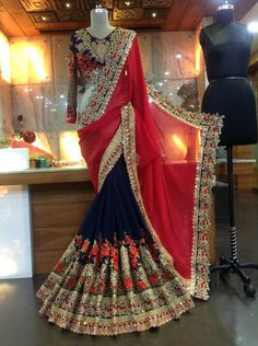 Have The Perfect Wedding With These Simple Tips. Anybody who has been involved in wedding planning can attest to the fact that the experience can be overwhelming. Designer Sarees Wedding, Saree Wedding, Wedding Wear, Designer Dresses, Indian Dresses, Indian Outfits, Pakistani Outfits, Indian Attire, Indian Wear