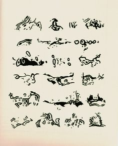 The New Post-literate: A Gallery Of Asemic Writing: Asemic Writing 2006-2009 from Andrei Molotiu