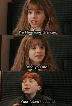 I totally said this when I watched this movie after reading the 7th book