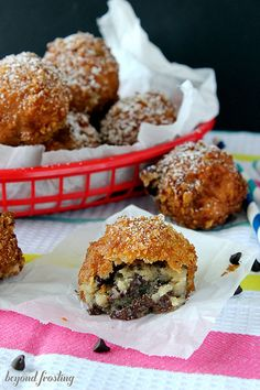 Deep Fried Cookie Dough Recipe by Beyond Frosting oh my... so long diet I never liked you anyway.
