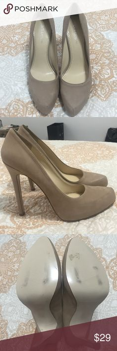 Nude Heels Size 9.5 nude heels by Enzo Angiolini Enzo Angiolini Shoes Heels