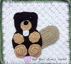 Ravelry: Beaver Applique pattern by Teri Heathcote