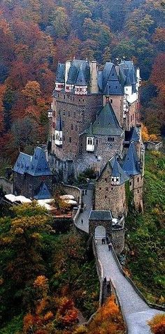 Burg Eltz Castle, Germany  . _ >> Please Like before you RePin <<< _ Personally Sponsored by Rick Stoneking Sr. Owner/Founder @Int'lReviews - World Travel Writers & Photographers Group. We Write Reviews & Photograph sites for Travel, Tourism & Historical Sites clients. Rick.Stoneking@yahoo.com