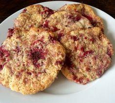 Citroen koekjes met frambozen – Sport Foodblog