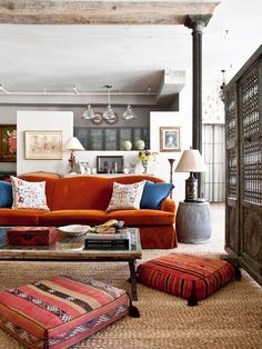 Living Room  Neutral Walls With Teal Or Orange Accent Wall? | For The Home  | Pinterest | Orange Accent Walls, Neutral Walls And Teal Part 68