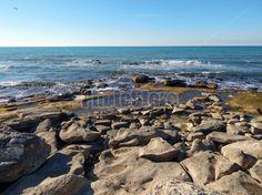 Rocky shore of Caspian Sea   beach, rocky, sea, coast, water, ocean, landscape, nature, shore, sky, blue, rocks, coastline, stone, seascape, seaside, surf, caspian sea, caspian, splash, wave, nobody, outdoors, beauty, storm, ripple, day, kazakhstan, каспий, каспийское море