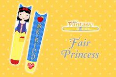 Fair Princess $2.50 magicband decal My Fantasy Bands decals to decorate Disney MagicBands Magic Bands