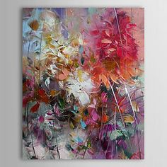 Hand-painted Abstract Oil Painting ab0233