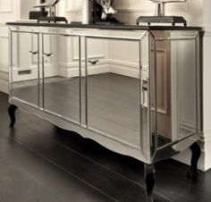 Art Deco Mirror cabinet - stunning▪