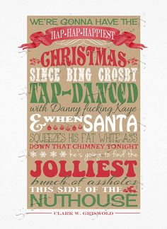 Christmas Vacation Quote INSTANT DOWNLOAD by SassabyParties