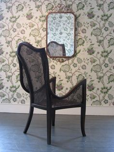 Another great bergere chair from early 20th Century whose fluid design gives it a great contemporary appeal from DC member 1HUNDRED