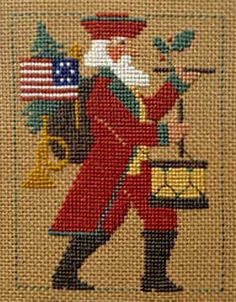 The Prairie Schooler Santas are among my favorites to stitch.