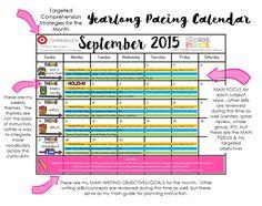 Year Long Planning