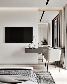aktuellsten Bilder Schlafzimmer Ideen fernseher Stil kostenlos latest pictures bedroom ideas tv style free because it is often excellent to start the new twelve months with uncomplicated bedroom refreshed by ve … # latest Suites, Luxurious Bedrooms, Luxury Bedrooms, Luxury Bedding, Home Bedroom, Bedroom With Tv, Black Master Bedroom, Bedroom Mirrors, Ikea Bedroom