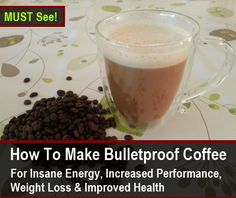 Bulletproof Coffee: Gentle But Lasting Energy