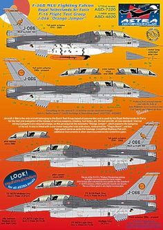 F-16B MLU Fighting Falcon Royal Netherlands Air Force F 16 Falcon, Military Aircraft, Netherlands, Air Force, Decals, Diana, 50th, Models, Colors