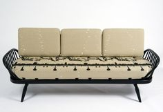 And another design by Timorous Beasties with the Ercol Studio Couch.