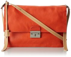 L.A.M.B. Cinda Shoulder Bag Orange �