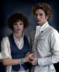 Alice & Jasper. Fan art.