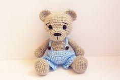 Motif: Ours-teddy  Amigurumi ours par Anatillea sur Etsy