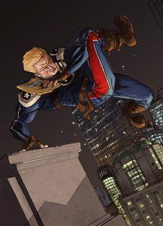Super Soldier-Steve Rogers by Brookhood & Geoffo-B